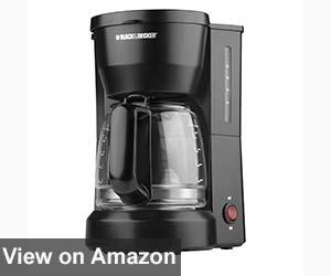 Black Decker DCM600B 5 Cup Coffee Maker 2017