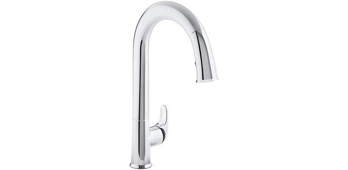 KOHLER K-72218-B7-CP Sensate Kitchen Faucet